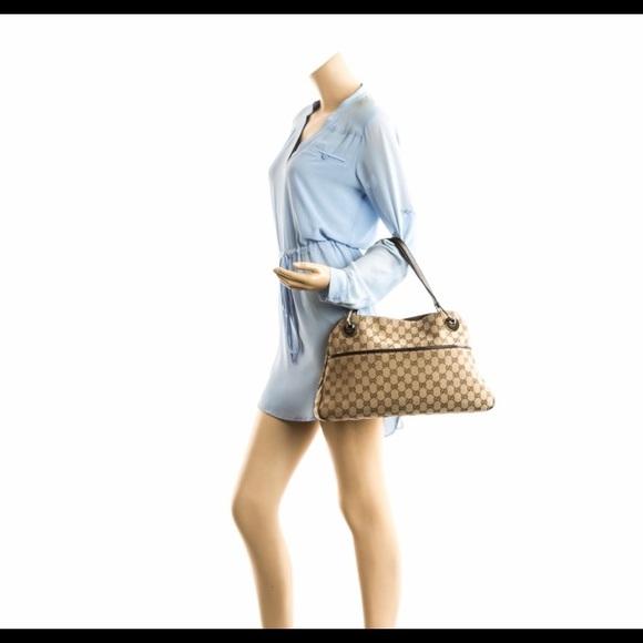 8ad99e3b40e8 Gucci Bags | Last Price Gg Eclipse Canvas Tote | Poshmark
